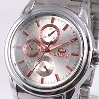 Free Shipping Fashion Mechanical sports Waterproof Rose Gold Watch 005c 2013