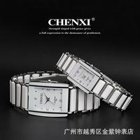2013 Free Shipping Fashion Couple Classic Elegant Ceramic Lovers Watch cx-104 white