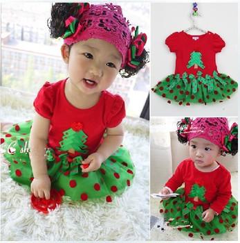 2013 New!Children's Christmas dress, girls Christmas dress, children's Christmas clothes,Children's clothes,girls dress