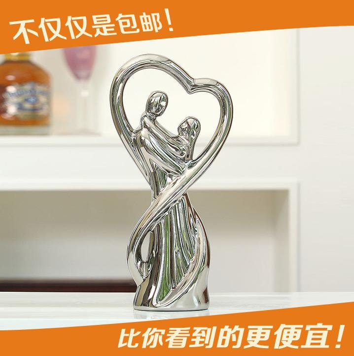 Fashion home living room wine cabinet decoration ceramic decoration accessories wedding gift(China (Mainland))
