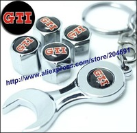 127 Kinds Support Mix GTI Spanner Wrench Metal Hub Tire Tyre Valve Wheel Air Dust Cap Car Emblem Badge High Quality