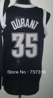 Cheap Sale,#35 Kevin Durant black Men's  Basketball jerseys free shipping accept mix order