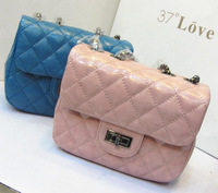 Fashion vintage plaid chain bag mini fashion bags women's handbag messenger bag