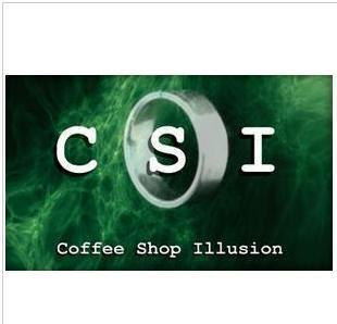 CSI Coffee Shop Illusion,card/mental/Street/close up magic online teaching,no gimmicks