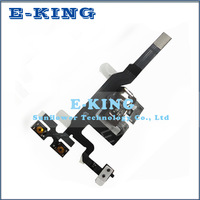 Original replacement Earphone Headphone Audio Jack Flex Ribbon Cable For iPhone 4S Free shipping