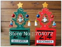 wholesale- free shipping Creative Christmas gift ornaments calendar month and day can significantly wholesale spot one may grant