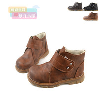 2 13 autumn and winter child boots boys shoes female baby shoes child parent-child waterproof soft martin boots