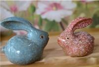 For dec  oration fashion lusterware rabbit crafts decoration home accessories desktop