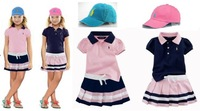 Free shipping, retails boy,short T shirt+dress, 3colors, 2 in 1, 1set/lot(no hat)