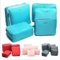 Waterproof travel storage bag set clothing storage bag sorting bags five pieces set of storage