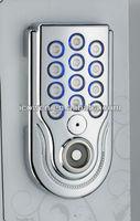 good price zinc alloy waterproof&dustproof electronic cabinet lock, digital locker lock
