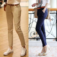 2013 autumn pants slim pencil all-match women's ankle length trousers casual pants harem pants
