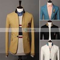 Free shipping In the fall of 2013 new single collar hit color button casual small jacket