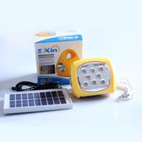 Multifunctional camp lamp led flashlight radio mp3 mobile phone charger
