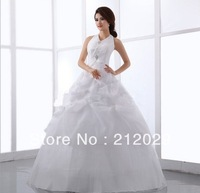 2013 new white wedding dress custom size 2 +4 +6 +8 +10 +12 +14 +16 +18 + + + +
