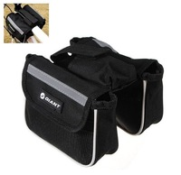 New Cycling Frame Pannier Mountain Bike Saddle Bicycle Front Tube Bag Pouch