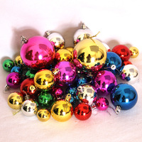 Christmas decoration christmas ball 3cm-8cm mixing ball light 44 decoration ball