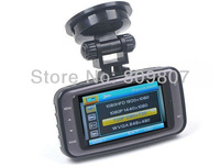 "High Quality HD 1080P Car DVR Recorder GS8000L with 2.7"" LCD + 140 Degree Wide Angle + HDMI + G-Sensor + Free Shipping"