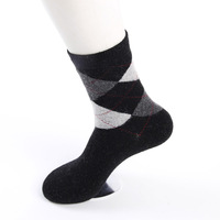 Langsha men's socks male winter thermal sock rabbit wool socks thickening male sand high cotton socks