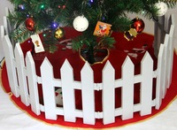 Christmas decoration christmas 30cm*24cm single plastic christmas fence free shipping
