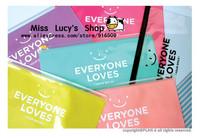 Free ship 1lot=20pcs/Korean stationery kawaii cute Cartoon Large multifunctional smiling face PVC edge bag to receive bag