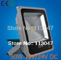 Aliexpress 8X/lot 100-240V LED Flood Light 50W IP65 GREY outdoor LED Lamp Warm(3000k)/White(6000k)