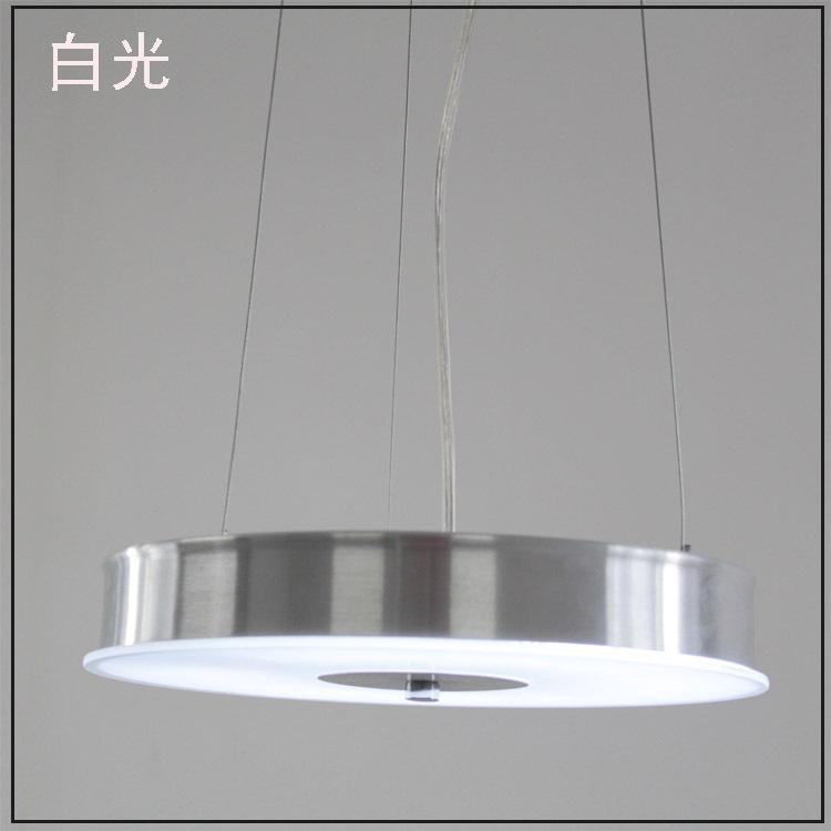 Aluminum plate pendant light brief modern personality lamp cover pendant light bedroom pendant light(China (Mainland))