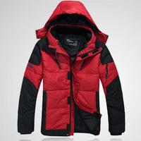 2014  Men Winter Outdoor Jackets Military Sport Thickening Men's Brand Coat Down Jacket Overcoat Winter Man Clothing