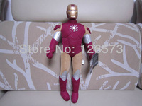 45cm plush iron man justice league the avengers birthday presents plush toys kids toys one piece free shipping