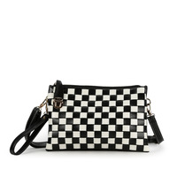 2013 women's handbag fashion casual day clutch joint all-match plaid messenger bag shoulder bag
