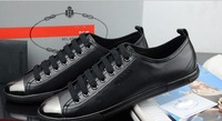 Free shipping ! Wholesale!2013 leather leisure men's shoes/sneakers/shoes-wj -191