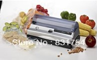 Vacuum packing machine/ vacuum sealing machine,can be suitable for sealing plastic bags with fluid and solid items