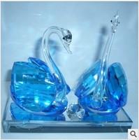 2013 crystal swan perfume seat car perfume seat interior car decoration lovers accessories