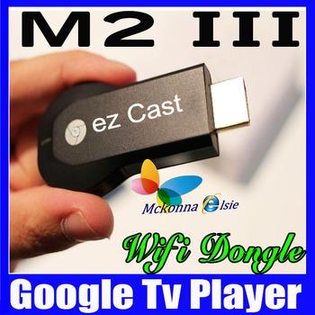 10Pcs! Free! M2 III Ezcast HD 1080P Mini Pc Wifi Media Player,TV Receiver Box EZ Cast Sharing Online Streaming&Mirroring Feature