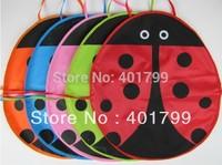 Free shipping 10PCS/LOT 5 colors Cute Ladybug Kids waterproof PVC Apron Lovely Child Pinafore
