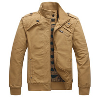 2013 male jacket outerwear autumn and winter men's clothing men's stand collar cotton 100% water wash Men casual jacket