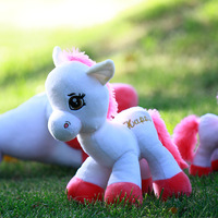 Christmas Gifts Exhaust pipe decoration doll zodiac plush toy doll dolls horse gift