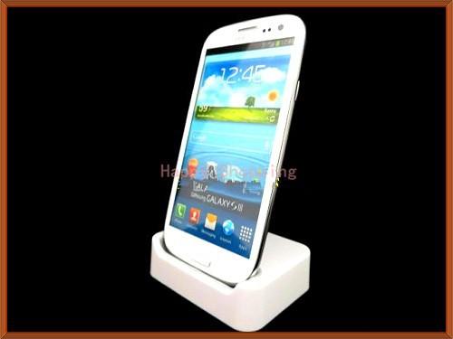 High Quality Charger Hotsync Dock Cradle For Samsung Galaxy S3 i9300 Free Shipping UPS DHL HKPAM YF-001(China (Mainland))