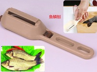Free shipping Fish Scales Planing Utensils Shaver Multi-function Creative Kitchen Tool