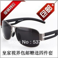 Freeshipping 8459 polarized  sunglasses sports mirror driver male sunglasses with original package  free  shipping