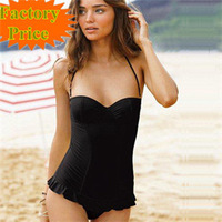 2013 new sexy bikinis for women one piece swim dress bikini , push up steel bathing suits, swimwear women's  beachwear 3006