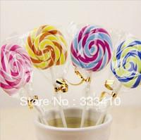 Super Simulation Lollipop Eraser Cute Rubber Student Awards Creative School Supplies 4pcs/lot Free Shipping