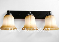 European retro wrought iron mirror light bathroom light bathroom wall lighting fixtures y15