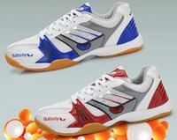 Butterfly lovers design table tennis ball shoes  sport shoes The latest arrival, comfortable and non slip shoes, badminton shoes