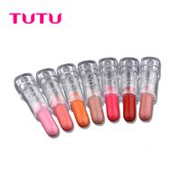 free shipping 10pcs Tutu nourishments lipstick small-sample nude pink red