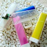 free shipping 10pcs Lipstick perfume mobile power diy charge treasure nesting circuit board shell colorful