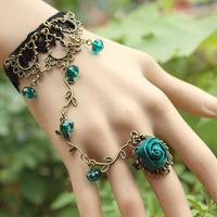 Hot sale Vintage lace bracelet  wedding  jewelry Lolita retro Spirit Crystal jewelry Christmas gift  B78