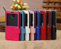 Magnetic PU Leather Case Stand w/Window View for Samsung Galaxy Note 3 III N9000
