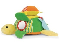SKP baby soft  Hug and Hide Activity Toy - the turtle
