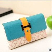 Small day clutch women handbags mini shoulder bag fashion chain female leather bags plaid wallet purse new 2013 free shipping 19